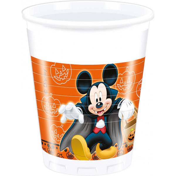 Disney Store Partymugg Musse Och Mimmi Pigg 8X Halloween Partymuggar från Disney store
