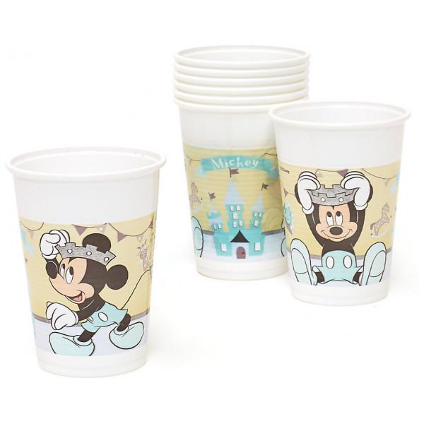 Disney Store Partymugg Musse Pigg Som Prins 8X Partymuggar från Disney store