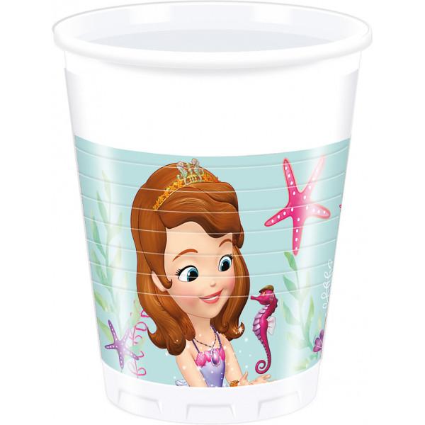 Disney Store Partymugg Sofia Den Första 8X Partymuggar från Disney store