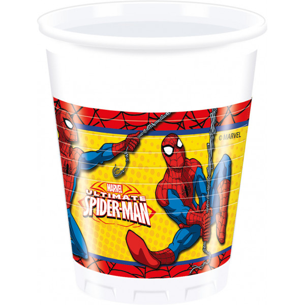 Disney Store Partymugg Spiderman 8X Partymuggar från Disney store