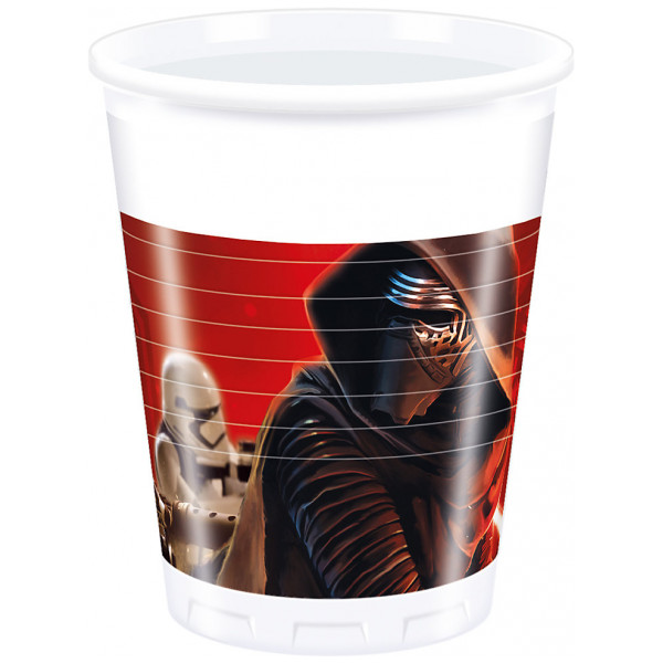 Disney Store Partymugg Star Wars The Force Awakens Partymuggar Set Med 8 från Disney store