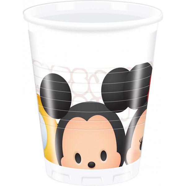 Disney Store Partymugg Tsum 8X Partymuggar från Disney store