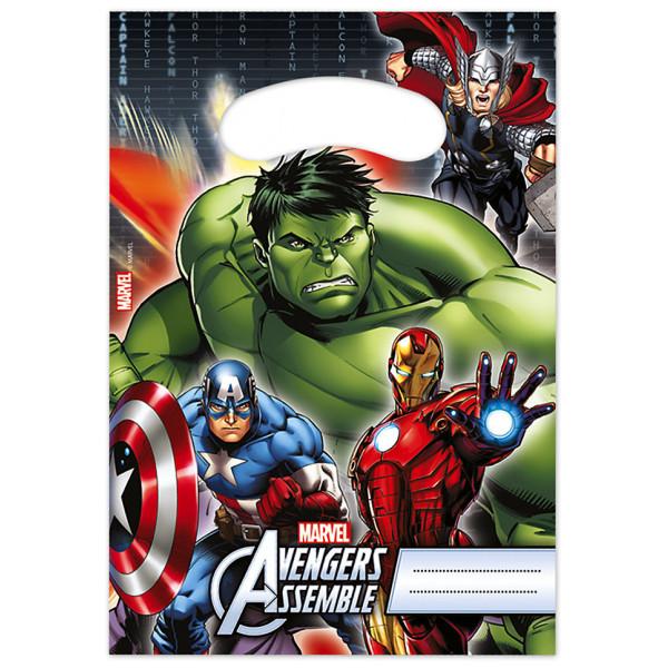 Disney Store Partypåse Avengers 6X Partypåsar från Disney store