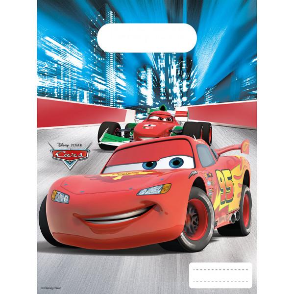 Disney Store Partypåse Disney Pixar Bilar 6X Partypåsar från Disney store