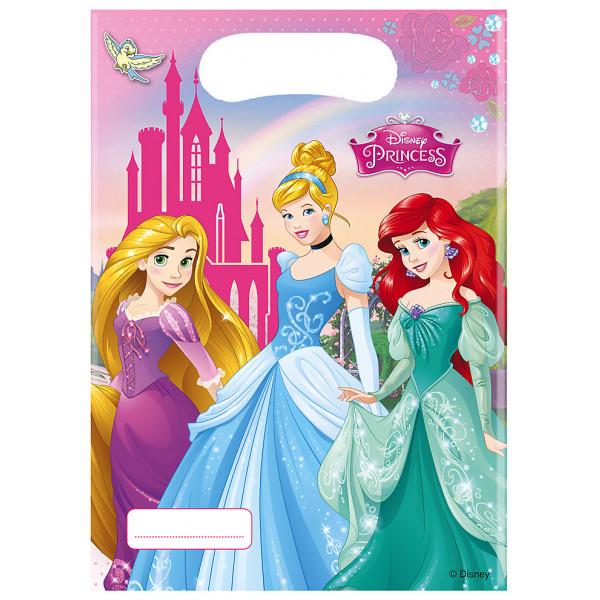 Disney Store Partypåse Disney Prinsessor 6X Partypåsar från Disney store