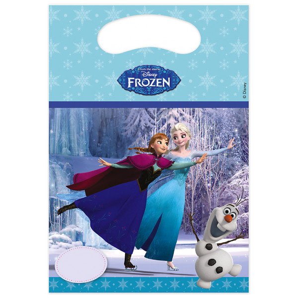 Disney Store Partypåse Frost Partypåsar 6-Pack från Disney store