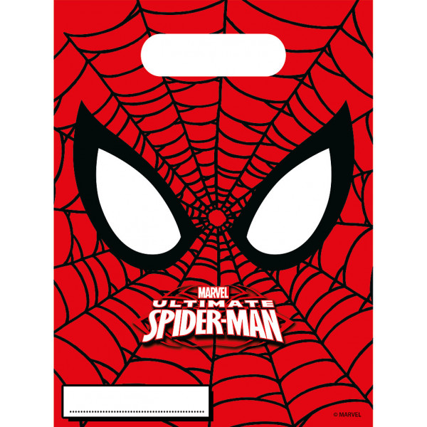 Disney Store Partypåse Spiderman 6X Partypåsar från Disney store