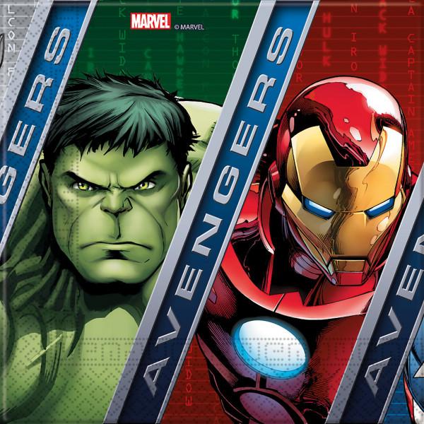 Disney Store Partyservett Avengers 20X Partyservetter från Disney store