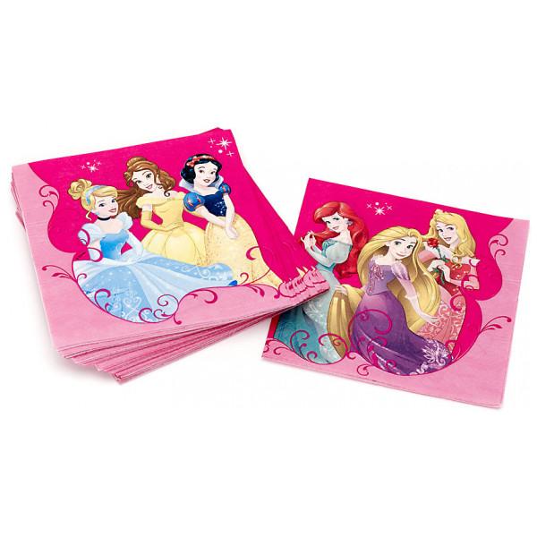 Disney Store Partyservett Disney Prinsessor 20X Partyservetter från Disney store
