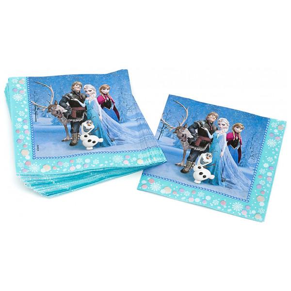 Disney Store Partyservett Frost 20X Partyservetter från Disney store