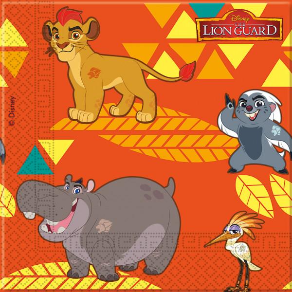 Disney Store Partyservett Lejonvakten 20X Partyservetter från Disney store