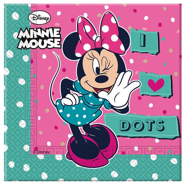 Disney Store Partyservett Mimmi Pigg Partyservetter 20-Pack från Disney store