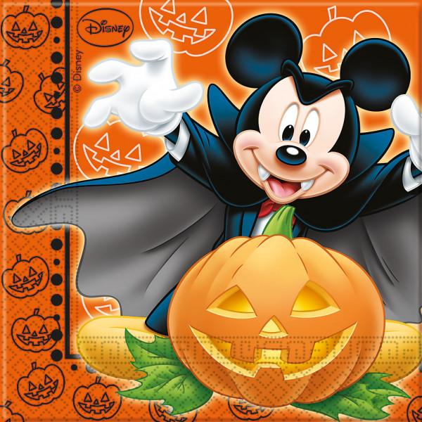 Disney Store Partyservett Musse Pigg 20X Halloween Partyservetter från Disney store