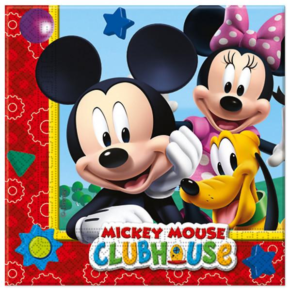 Disney Store Partyservett Musse Pigg 20X Partyservetter från Disney store
