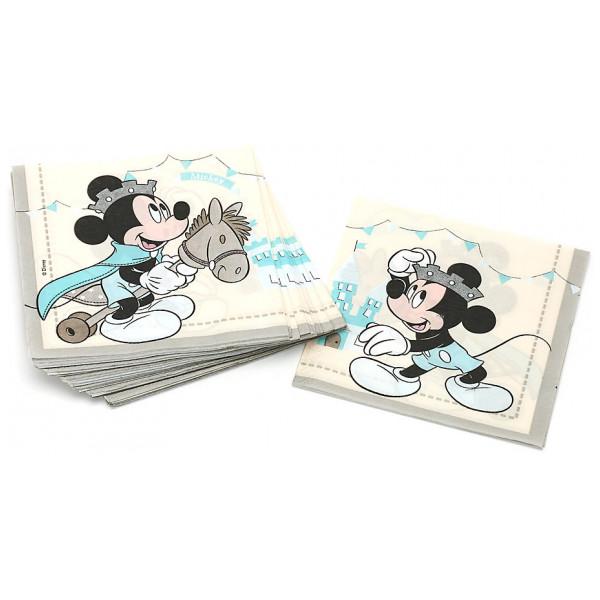 Disney Store Partyservett Musse Pigg Som Prins 20X Partyservetter från Disney store