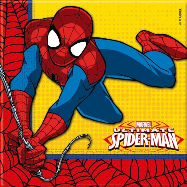 Disney Store Partyservett Spiderman 20X Partyservetter från Disney store