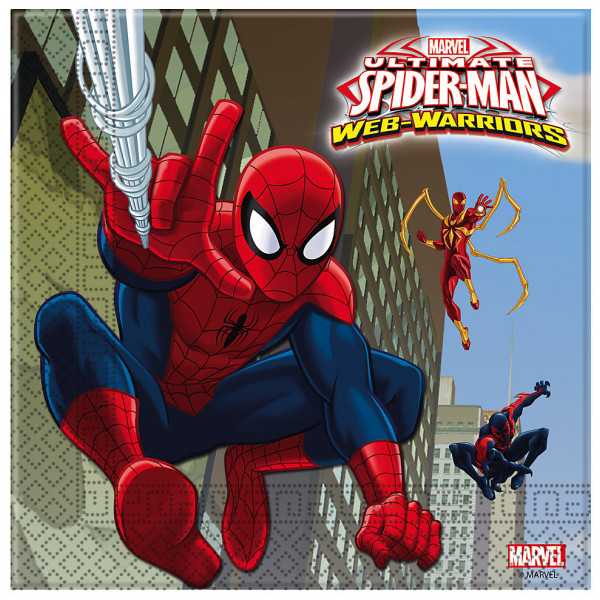 Disney Store Partyservett Spiderman Partyservetter 20-Pack från Disney store