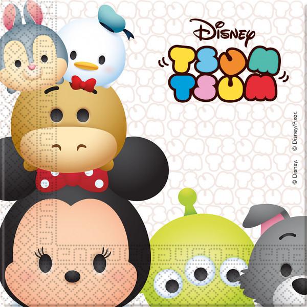 Disney Store Partyservett Tsum 20X Partyservetter från Disney store