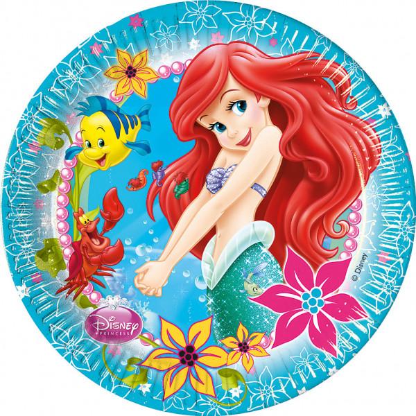 Disney Store Partytallrik Ariel 8X Partytallrikar från Disney store
