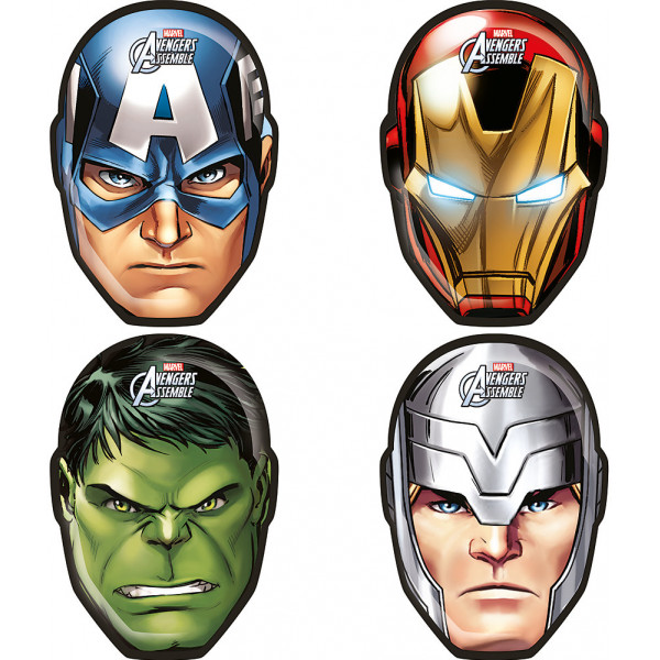 Disney Store Partytallrik Avengers-Formade Figurtallrikar från Disney store