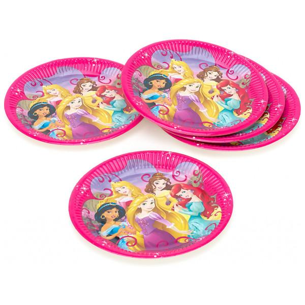 Disney Store Partytallrik Disney Prinsessor 8X Partytallrikar från Disney store