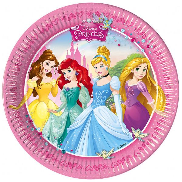 Disney Store Partytallrik Disney Prinsessor Partytallrikar Set Med 8 från Disney store