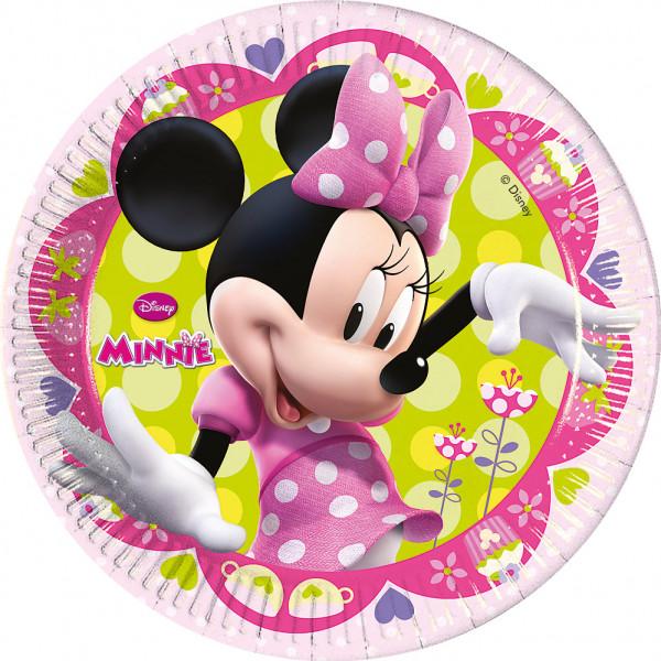 Disney Store Partytallrik Mimmi Pigg 8X Partytallrikar från Disney store