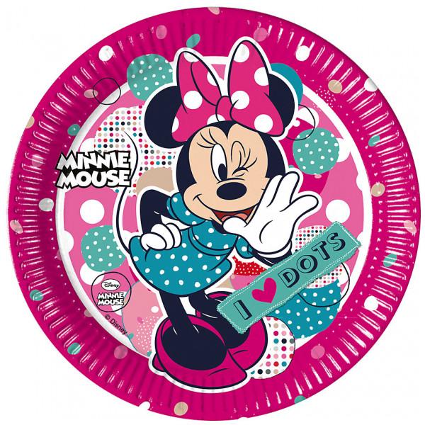 Disney Store Partytallrik Mimmi Pigg Partytallrikar Set Med 8 från Disney store