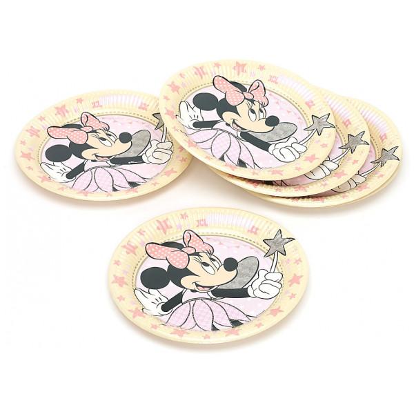 Disney Store Partytallrik Mimmi Pigg Som Älva 8X Partytallrikar från Disney store