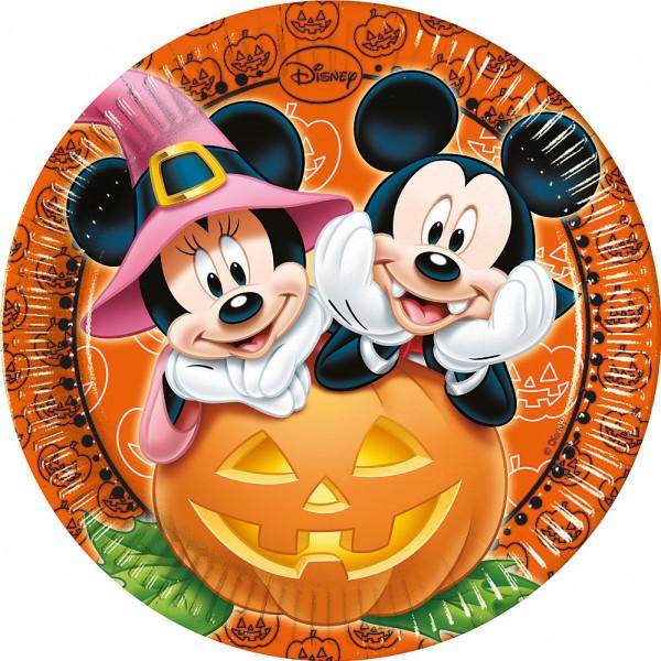Disney Store Partytallrik Musse Och Mimmi Pigg 8X Halloween-Partytallrikar från Disney store