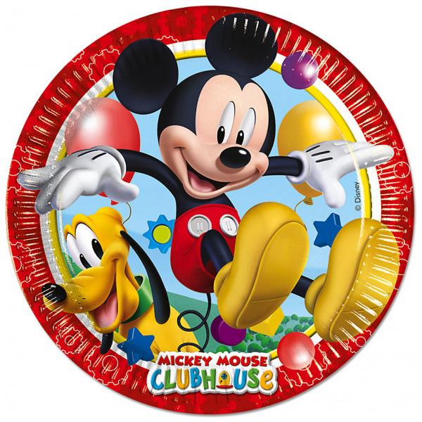 Disney Store Partytallrik Musse Pigg 8X Partytallrikar från Disney store