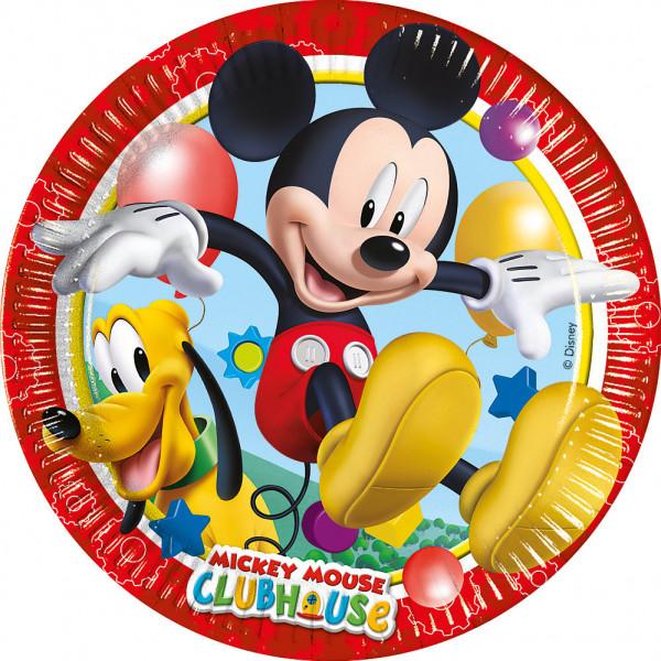 Disney Store Partytallrik Musse Pigg 8X Små Partytallrikar från Disney store