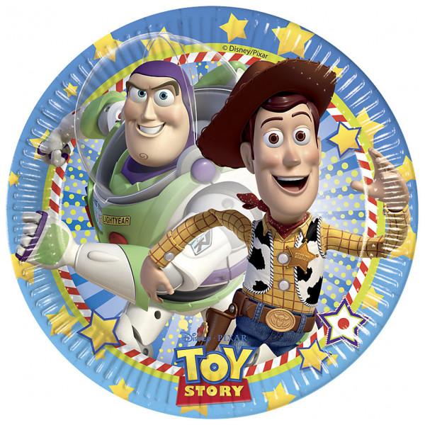 Disney Store Partytallrik Toy Story 8X Partytallrikar från Disney store