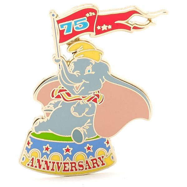 Disney Store Pins Dumbo 75-Årsjubileum Pin I Begränsad Upplaga från Disney store