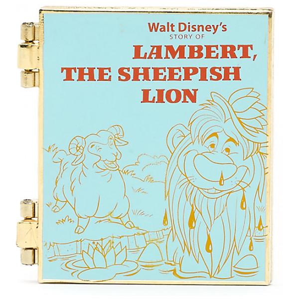 Disney Store Pins Lambert Det Fåraktiga Lejonet-Pin från Disney store