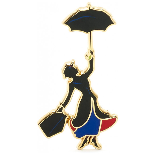 Disney Store Pins Mary Poppins Pin I Begränsad Upplaga från Disney store