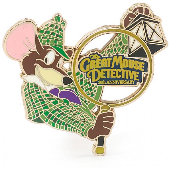 Disney Store Pins Mästerdetektiven Basil Mus Pin I Begränsad Upplaga från Disney store