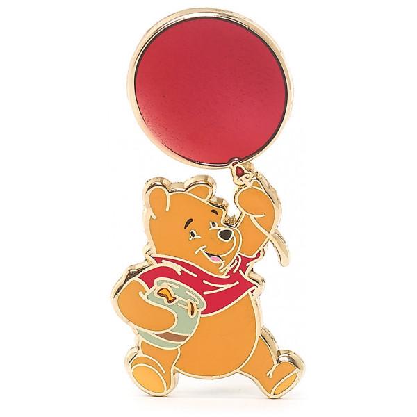 Disney Store Pins Nalle Puh Med Ballong Pin I Begränsad Upplaga från Disney store