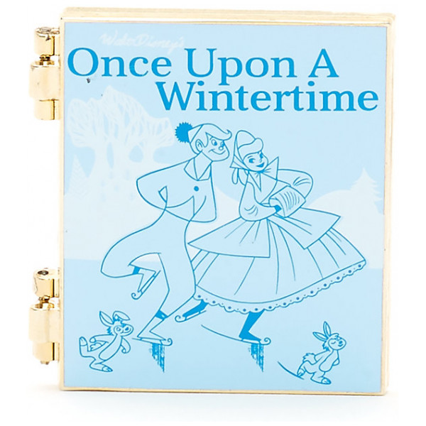 Disney Store Pins Once Upon A Wintertime-Nål Disney Storybook Classics Collection från Disney store