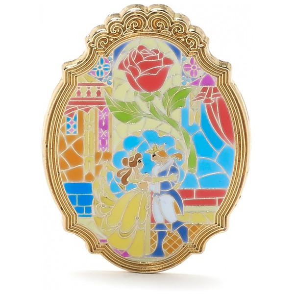 Disney Store Pins Skönheten Och Odjuret Samlarpin I Begränsad Upplaga från Disney store