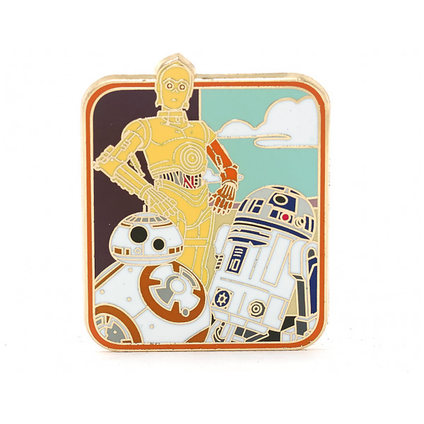 Disney Store Pins Star Wars The Force Awakens Pin I Begränsad Upplaga från Disney store