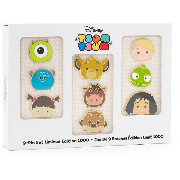 Disney Store Pins Tsum Set Med I Begränsad Upplaga från Disney store