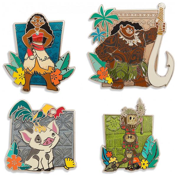 Disney Store Pins Vaiana I Begränsad Upplaga från Disney store