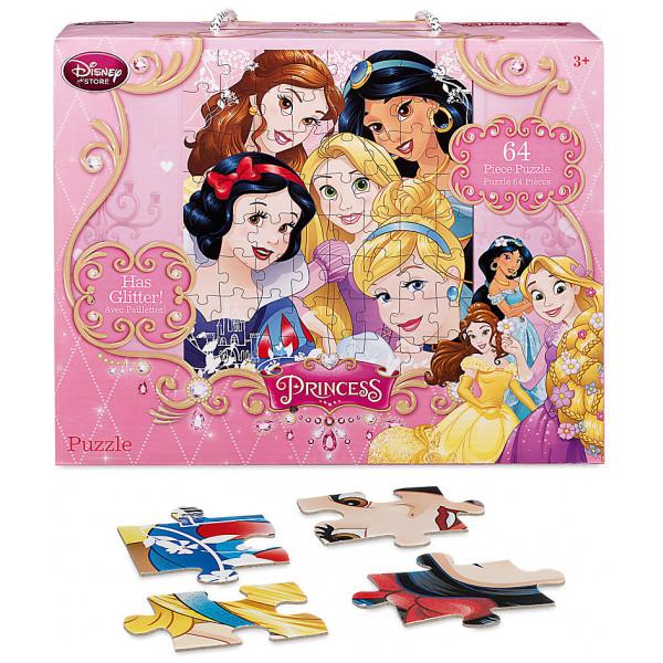 Disney Store Pussel Disney Prinsessor 64-Bitars från Disney store