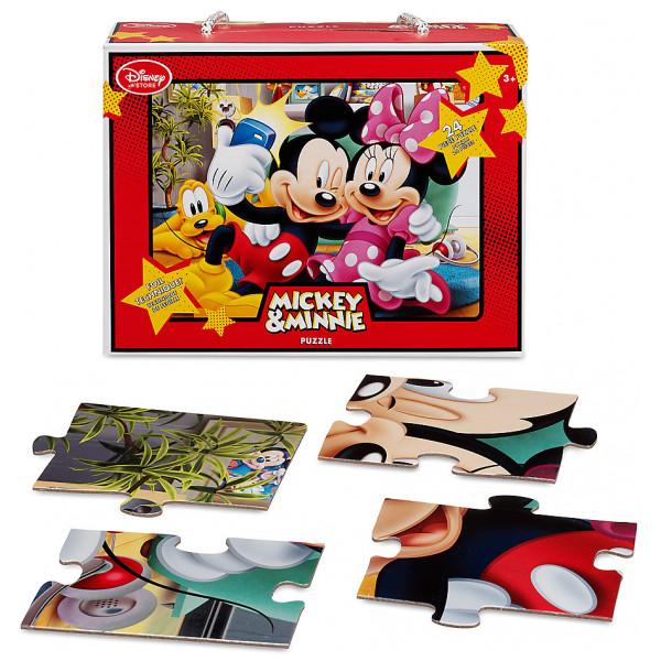 Disney Store Pussel Musse Och Mimmi Pigg 24-Bitars från Disney store