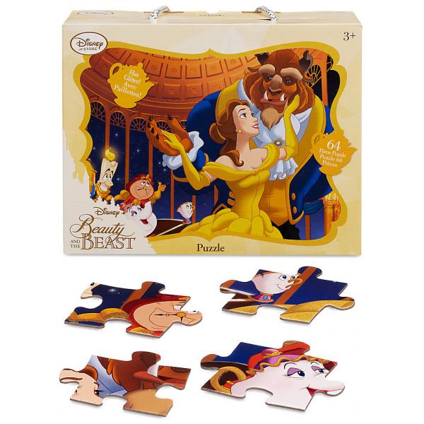 Disney Store Pussel Skönheten Och Odjuret 64-Bitars från Disney store