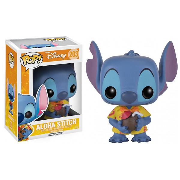 Disney Store Samlarfigur Aloha Stitch Pop Vinylfigur Från Funko från Disney store