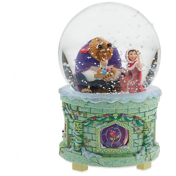 Disney Store Samlarfigur Art Of Belle Upplyst Snöglob Med Speldosa från Disney store