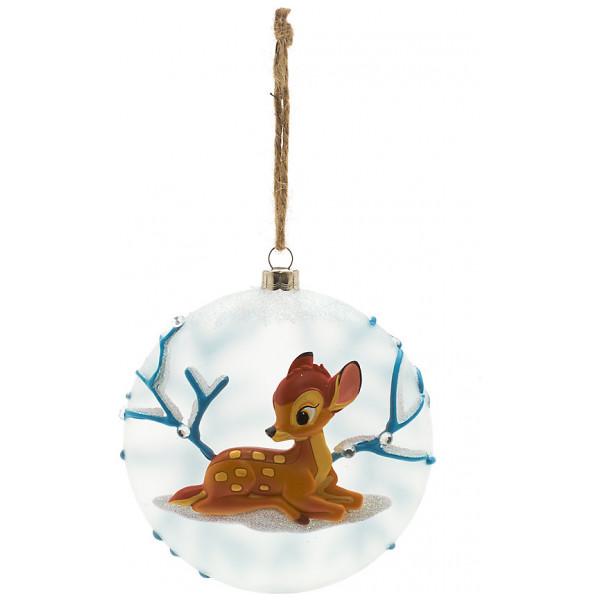 Disney Store Samlarfigur Bambi Glasdekoration Disneyland Paris från Disney store