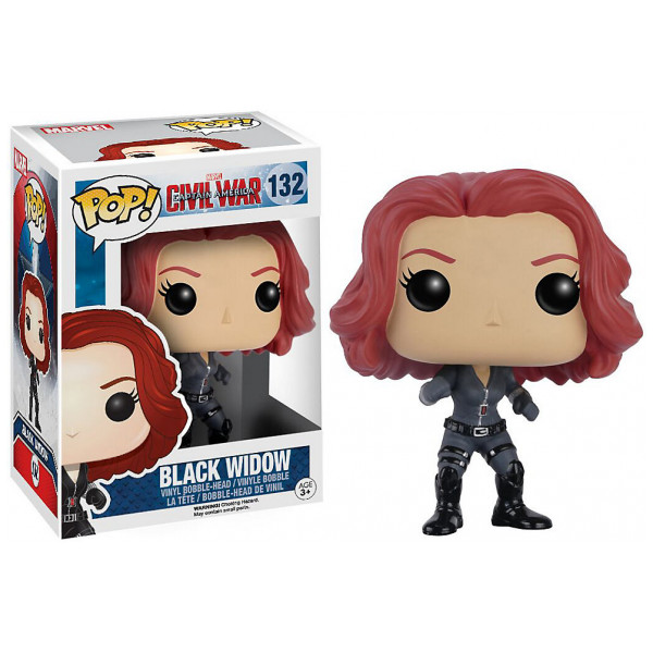Disney Store Samlarfigur Black Widow Pop Vinylfigur Från Funko Captain America Civil War från Disney store